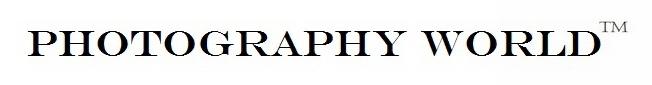 Photography World with trademark symbol