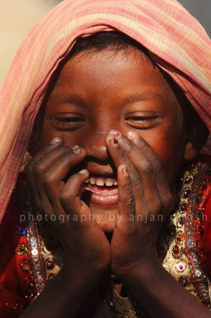 Little Girl Smiling Anjan Ghosh