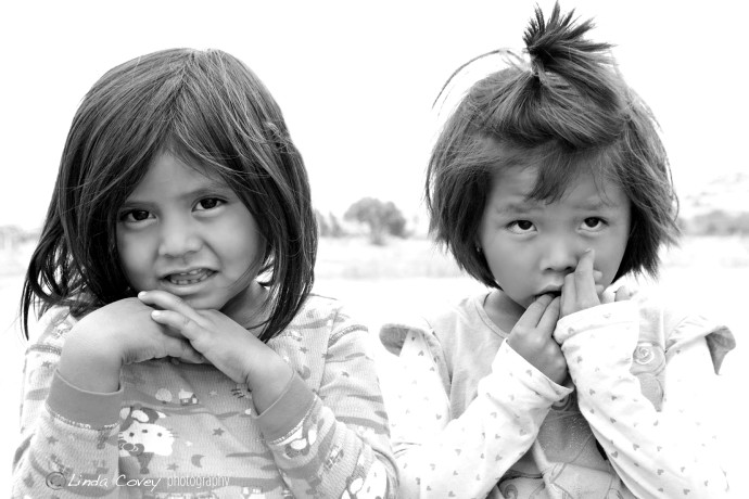 ©Navajo Girls. Photograph by Linda Covey