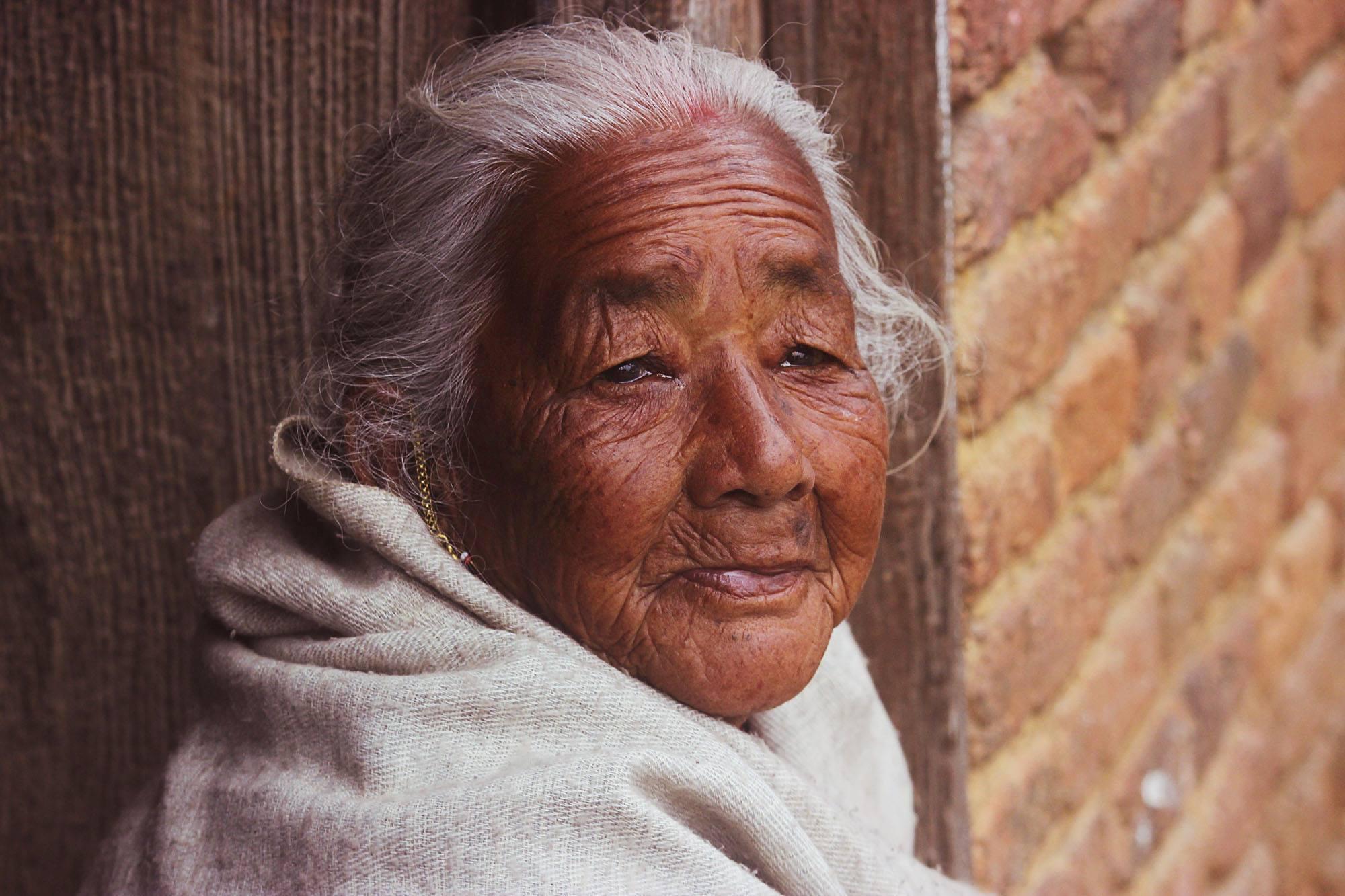 @ Nepal Portrait. Photograph by Anjan Ghosh 2015