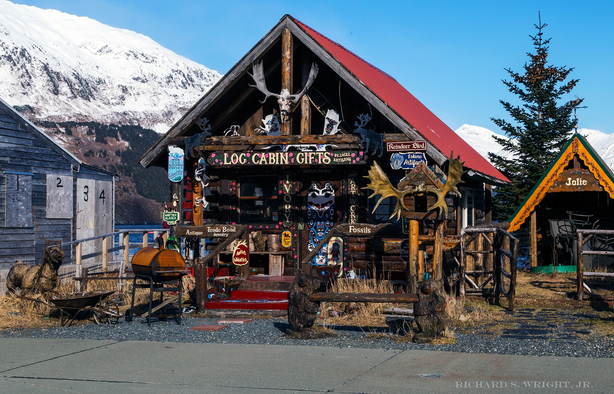 Whittier, Alaska. Photograph by Richard S. Wright, Jr. 2015