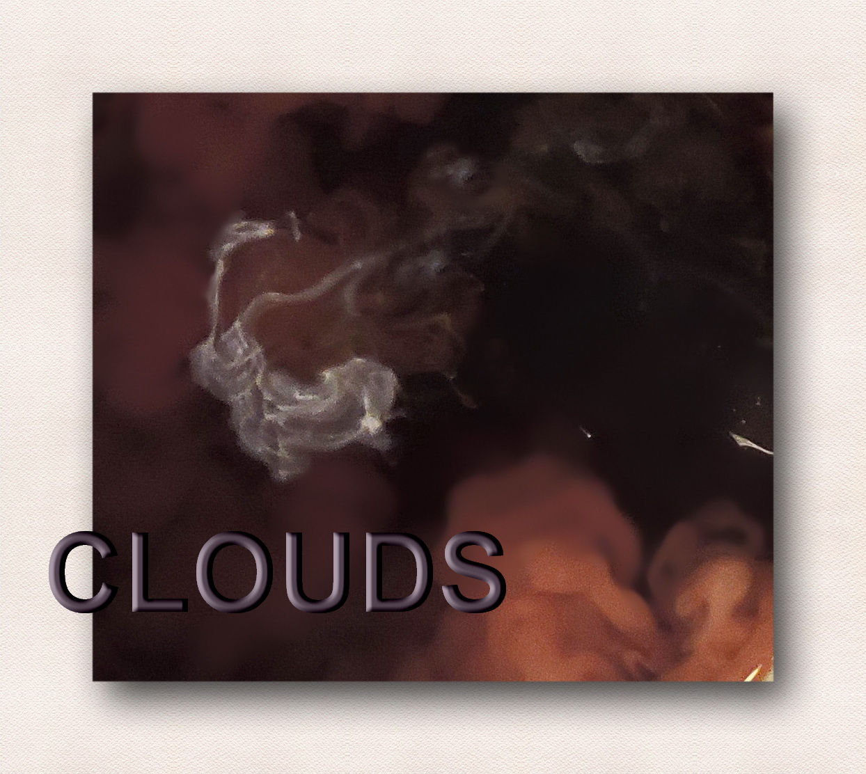 """© Clouds (in my coffee). Photograph by Mina Thevenin. Photography World article, """"The Language of Clouds"""" @ photographyworld.org"""