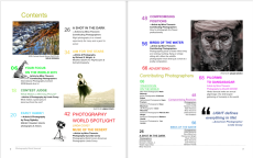 Photography World Journal 1, April 2016 Table of Contents @ https://photographyworld.org/photography-world/about/