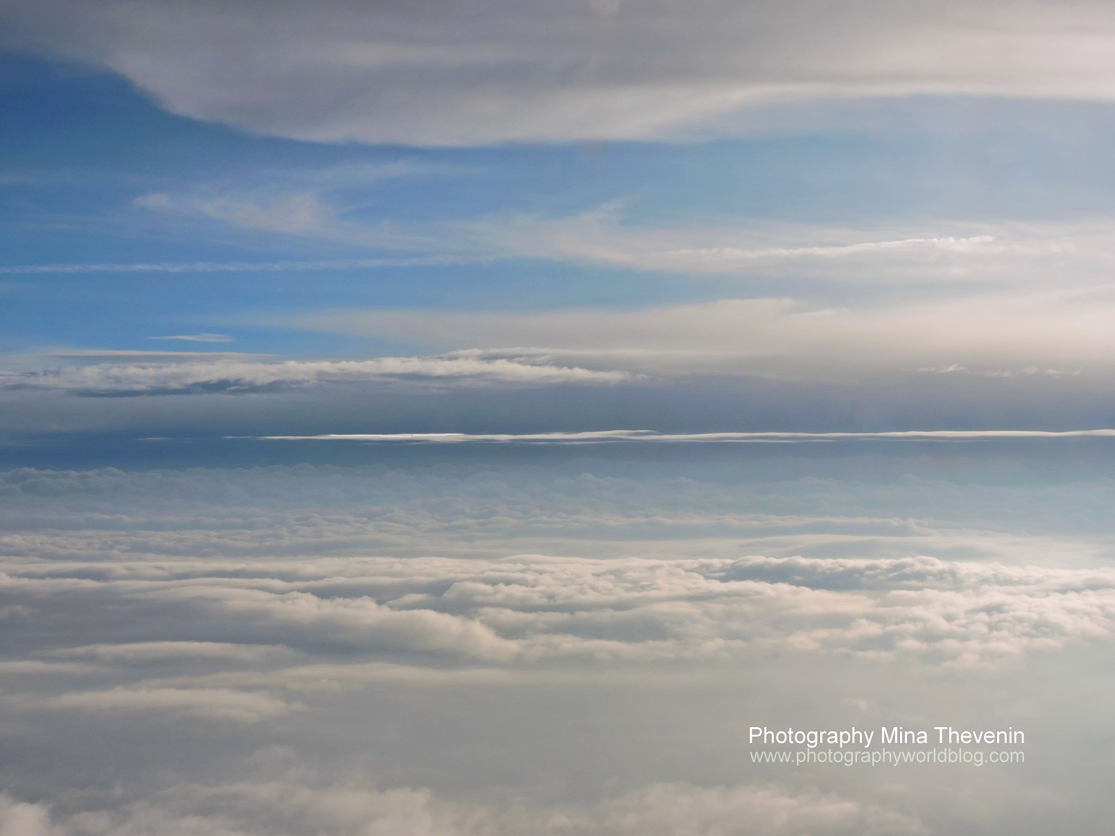 © Cloud Variations. Photograph by Mina Thevenin. Photography World online publication, www.photographyworld.org