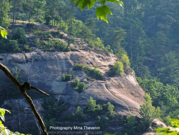 © Indian Staircase. Red River Gorge. Adena Hike. Photography World. www.photographyworld.org