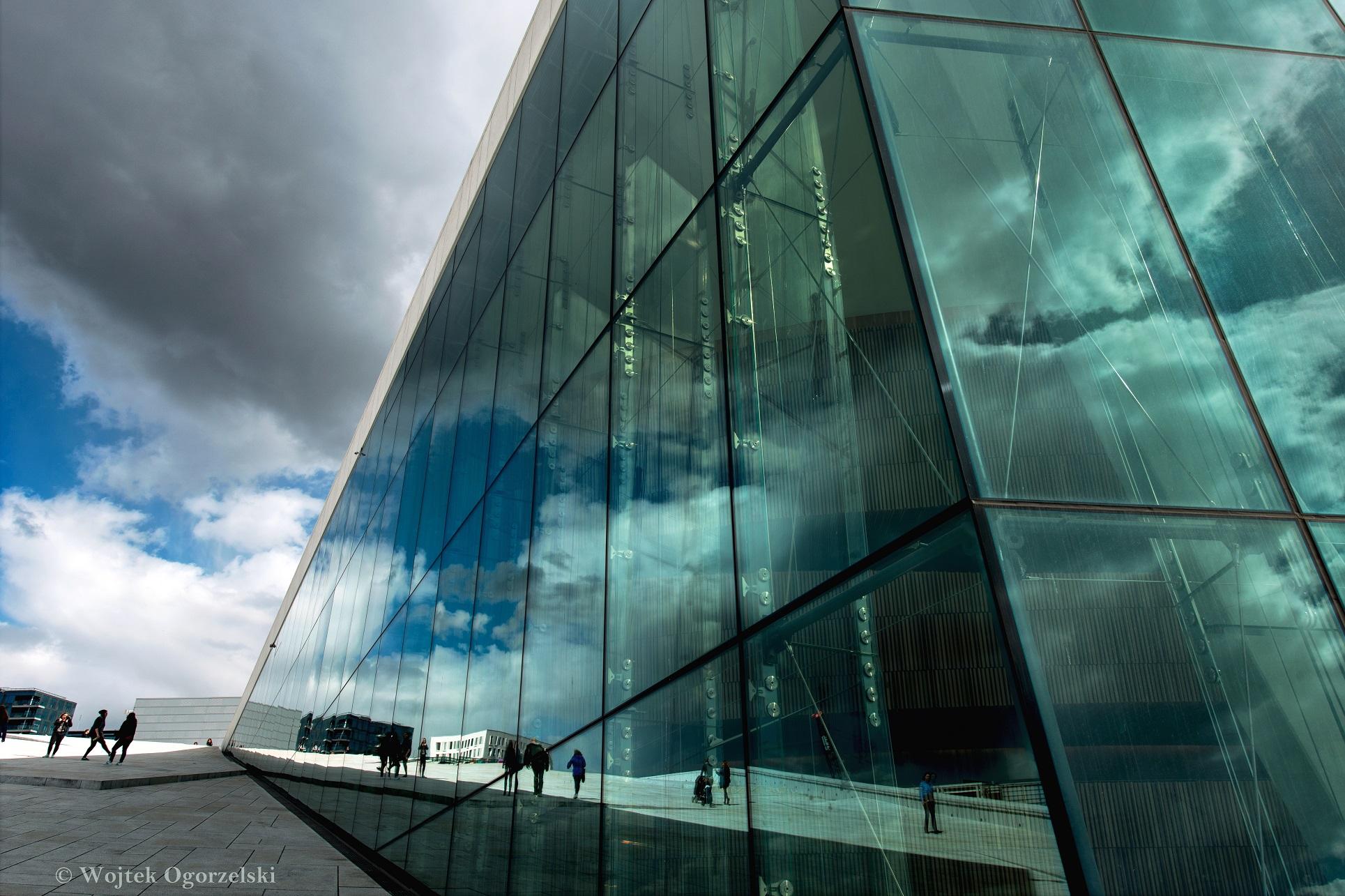 "© Norwegian Opera & Ballet. Oslo, Norway. Photographer Wojtek Ogorzelski. Photography World article, ""ORGANIC ARCHITECTURE: European Photographer Wojtek Ogorzelski- Norway, Poland & Portugal"" photographyworld.org"