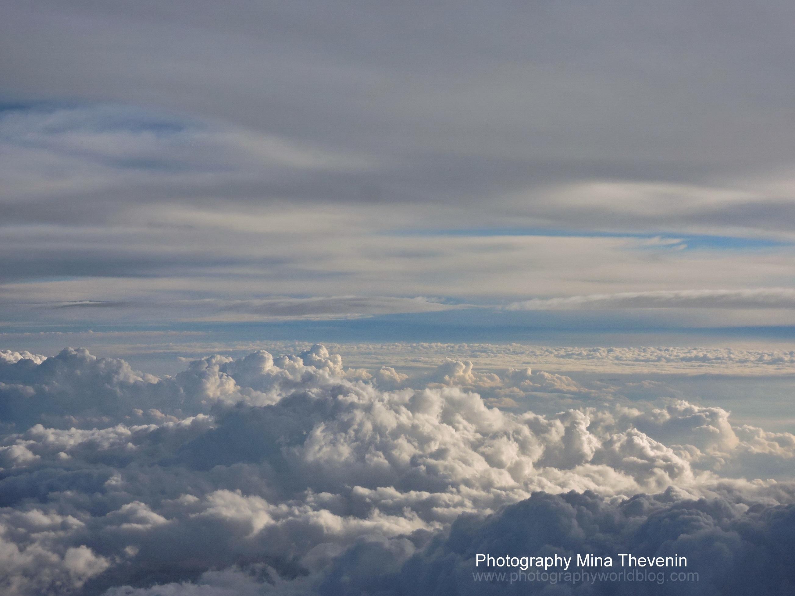 © Sunset Striation. Photograph by Mina Thevenin. Photography World Online Publication. www.photographyworld.org