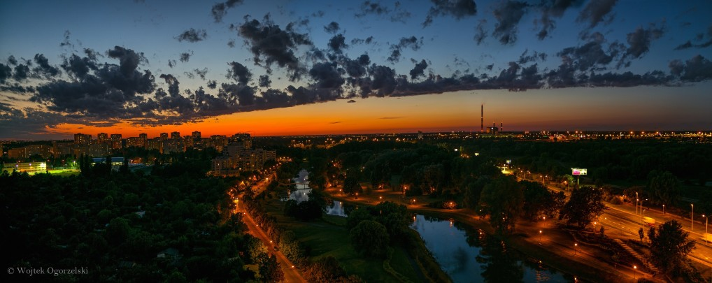 © Sunset Warsaw. Photograph by Wojtek Ogorzelski. Photography World, www.photographyworld.org