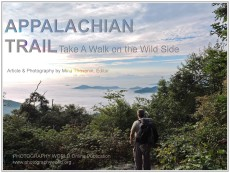 "© Appalachian Trail cover for PHOTOGRAPHY WORLD by Mina Thevenin. Photography World article: ""APPALACHIAN TRAIL|Take a Walk on the Wild Side|Nantahala|Tellico Gap to Wayah Bald"" photographyworld.org"