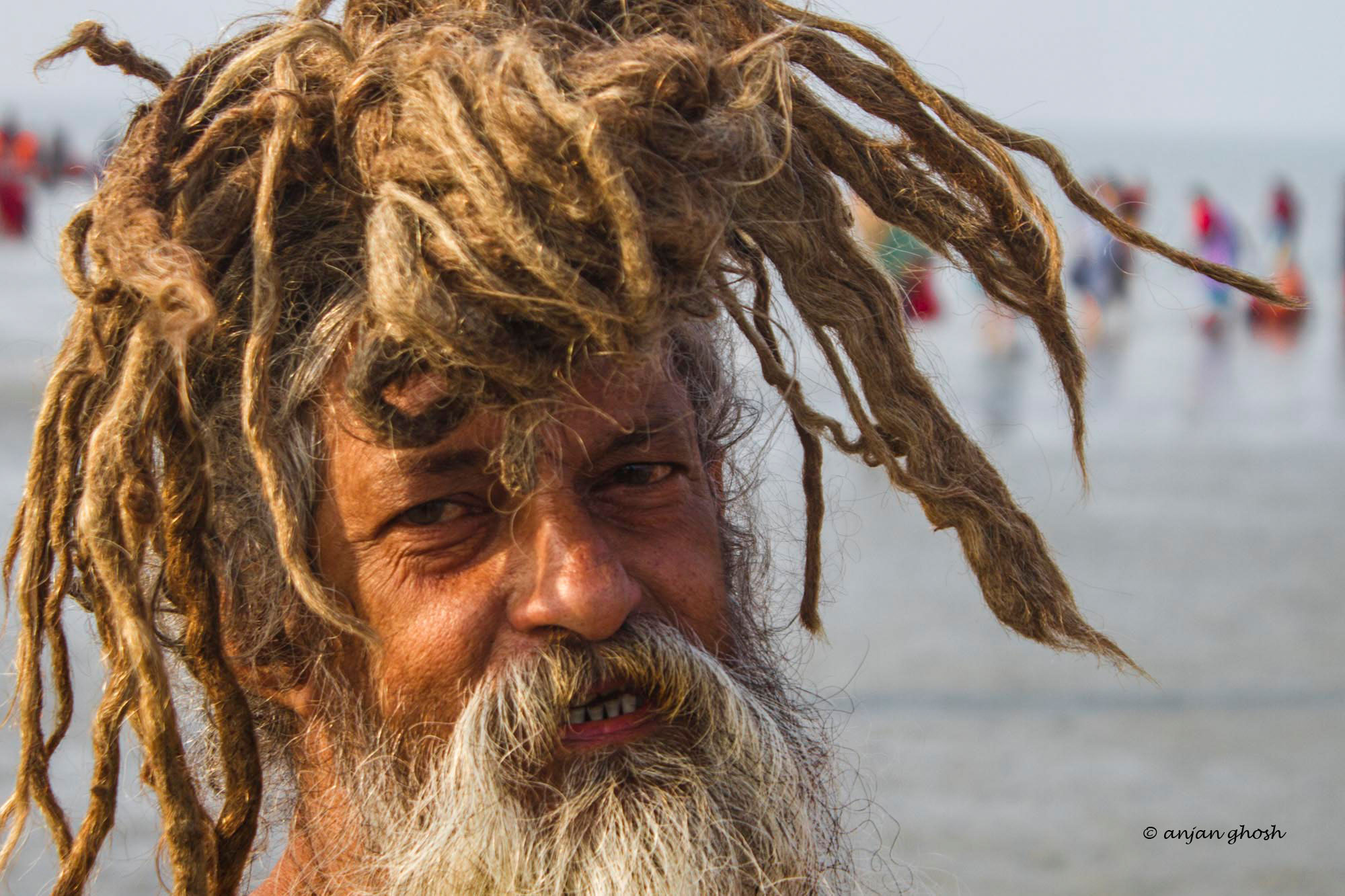 Pilgrims to Gangasagar. Copyright Photograph by Anjan Ghosh for Photography World Article